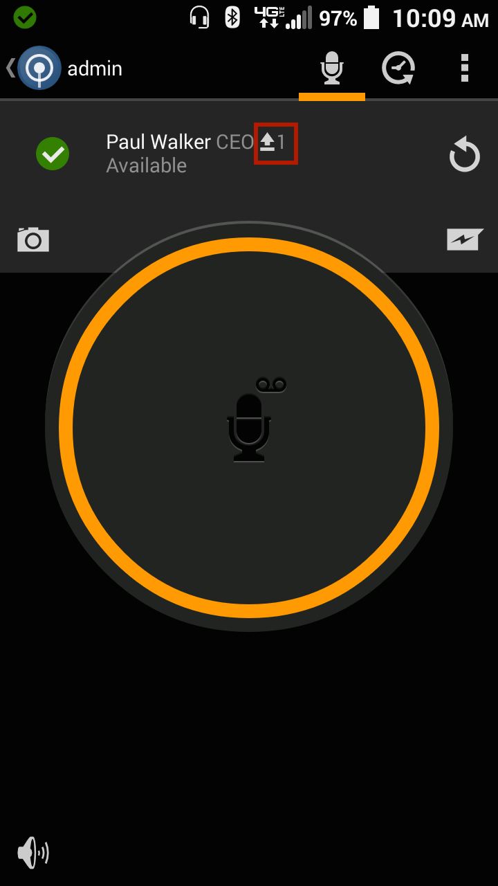 Why is there an arrow next to a user on the talk screen zello inc 2 open the history to see the status of the messages the hollow arrow with a line underneath means zello is sending the message biocorpaavc Gallery